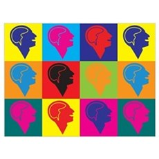 Psychology Pop Art Poster