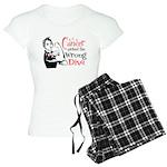 Wrong Diva Oral Cancer Women's Light Pajamas