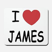 I heart James Mousepad