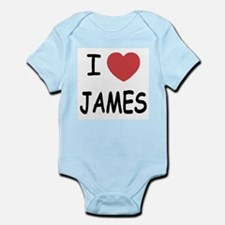 I heart James Infant Bodysuit