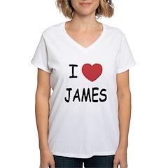 I heart James Shirt