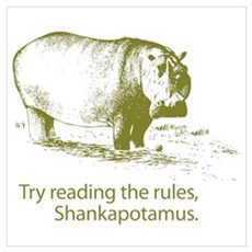 Shankapotamus Poster