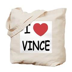 I heart Vince Tote Bag
