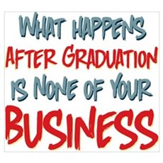 What Happens After Graduation Poster