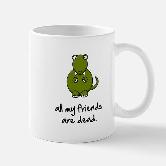 Dinosaur Friends Dead Mug