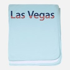 Las Vegas Stars and Stripes baby blanket