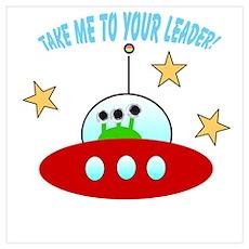 cute alien Poster
