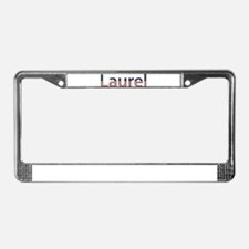 Laurel Stars and Stripes License Plate Frame