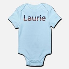 Laurie Stars and Stripes Infant Bodysuit