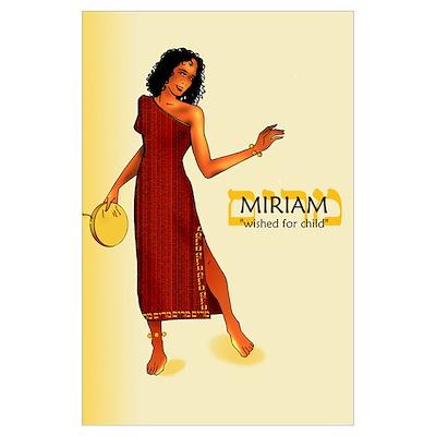Miriam Name (11x17) Poster