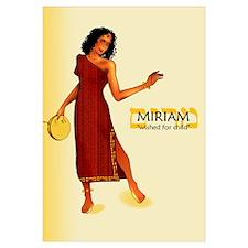 Miriam Name (11x17)