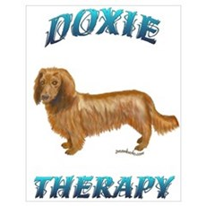 Doxie Therapy Poster
