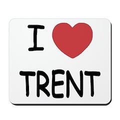 I heart Trent Mousepad