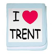 I heart Trent baby blanket