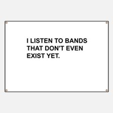Bands Don't Exist Banner