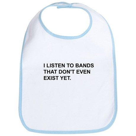 Bands Don't Exist Bib
