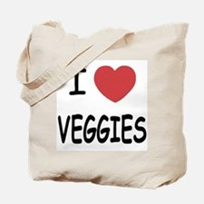 I heart veggies Tote Bag
