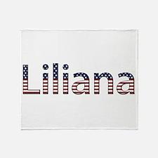 Liliana Stars and Stripes Throw Blanket