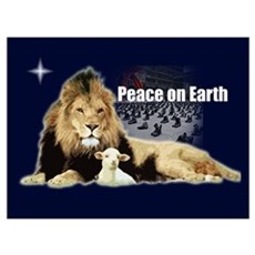 Peace on Earth for the Religi Framed Print