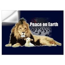 Peace on Earth for the Religi Wall Decal