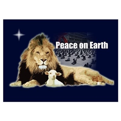 Peace on Earth for the Religi Poster
