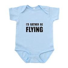 Rather Be Flying Infant Bodysuit