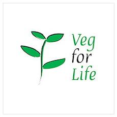 Veg for Life Poster
