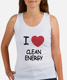 I heart clean energy Women's Tank Top