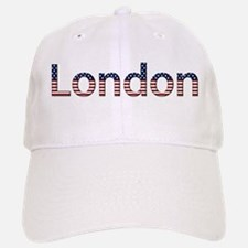 London Stars and Stripes Baseball Baseball Cap