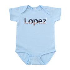 Lopez Stars and Stripes Infant Bodysuit