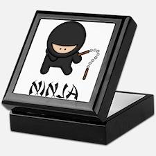 Ninja Nunchuck Keepsake Box