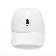 Ninja Nunchuck Baseball Cap