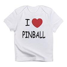 I heart pinball Infant T-Shirt