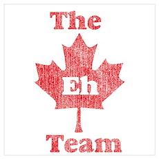 Vintage Team Eh Poster