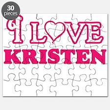 I Love Kristen Puzzle