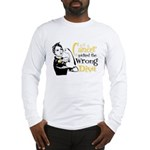 Wrong Diva Neuroblastoma Long Sleeve T-Shirt