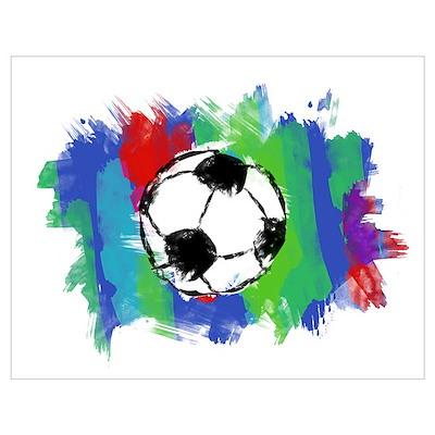 Soccer Fan Poster
