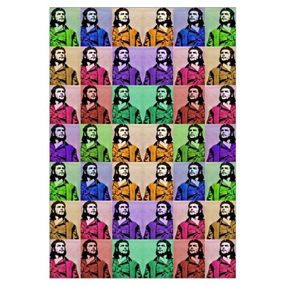 Che Rocks Framed Print
