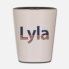 Lyla Stars and Stripes Shot Glass