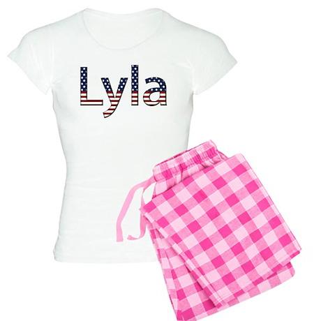 Lyla Stars and Stripes Women's Light Pajamas