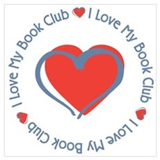 I Love My Book Club Poster