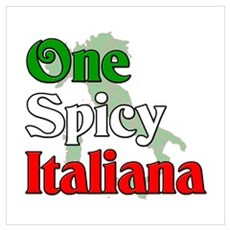 One Spicy Italiana Canvas Art