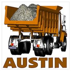Austin Dumptruck Poster