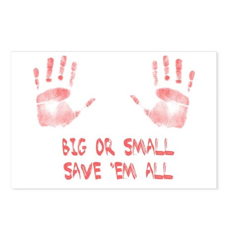 Big or Small Postcards (Package of 8)