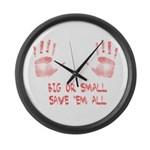 Big or Small Large Wall Clock