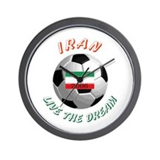 Iran world cup Wall Clock