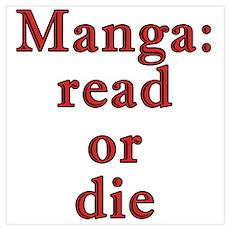 Manga: read or die Poster