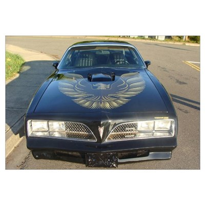 Firebird Trans Am Front Framed Print