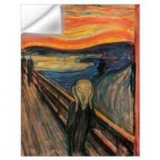 The Scream Skrik Wall Decal