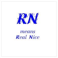 Blue RN Poster